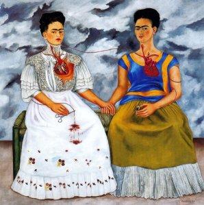 Uno de los cuadros de Frida Khalo