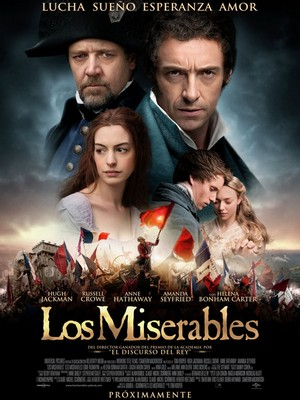 Cartel de Los Miserables