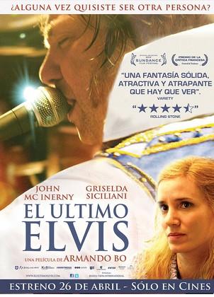 Cartel de El último Elvis