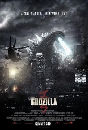 Cartel de Godzilla