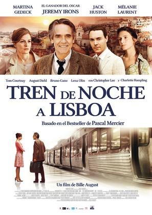 Cartel de Tren de noche a Lisboa